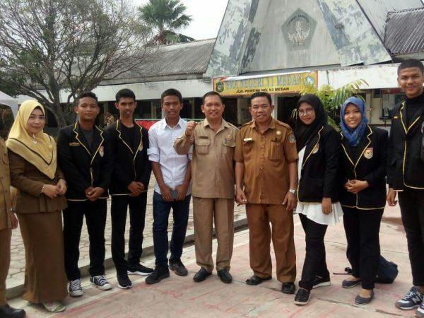 Foto bersama Bpk. Kacabdis Medan Utara